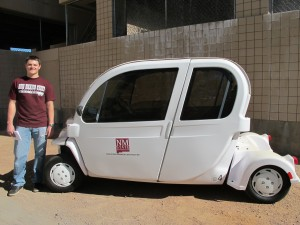 GEM (Global Electric Motors) electric vehicle