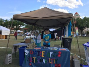 Earth Day 2015 OoS tabling