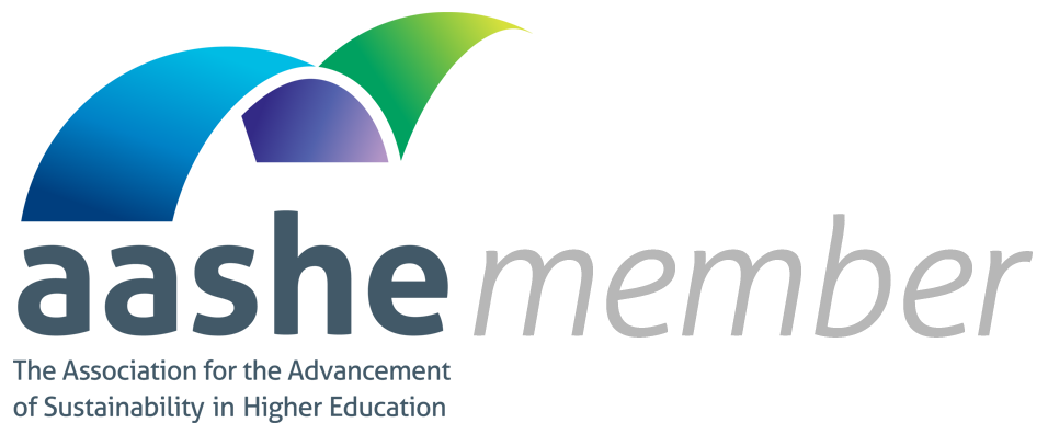 AASHE Member - The Association for the Advancement of Sustainability in Higher Education